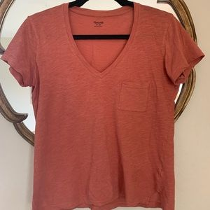 MADEWELL | Casual V-Neck T-Shirt